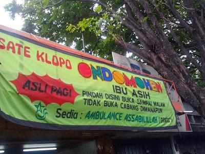 Sate Klopo Kuliner Unggulan Di Surabaya