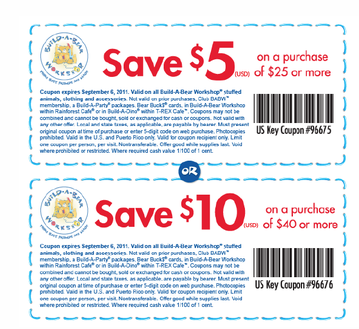 photograph about Build a Bear Coupons Printable named Coupon code establish a endure british isles : Gojane discount coupons 2018