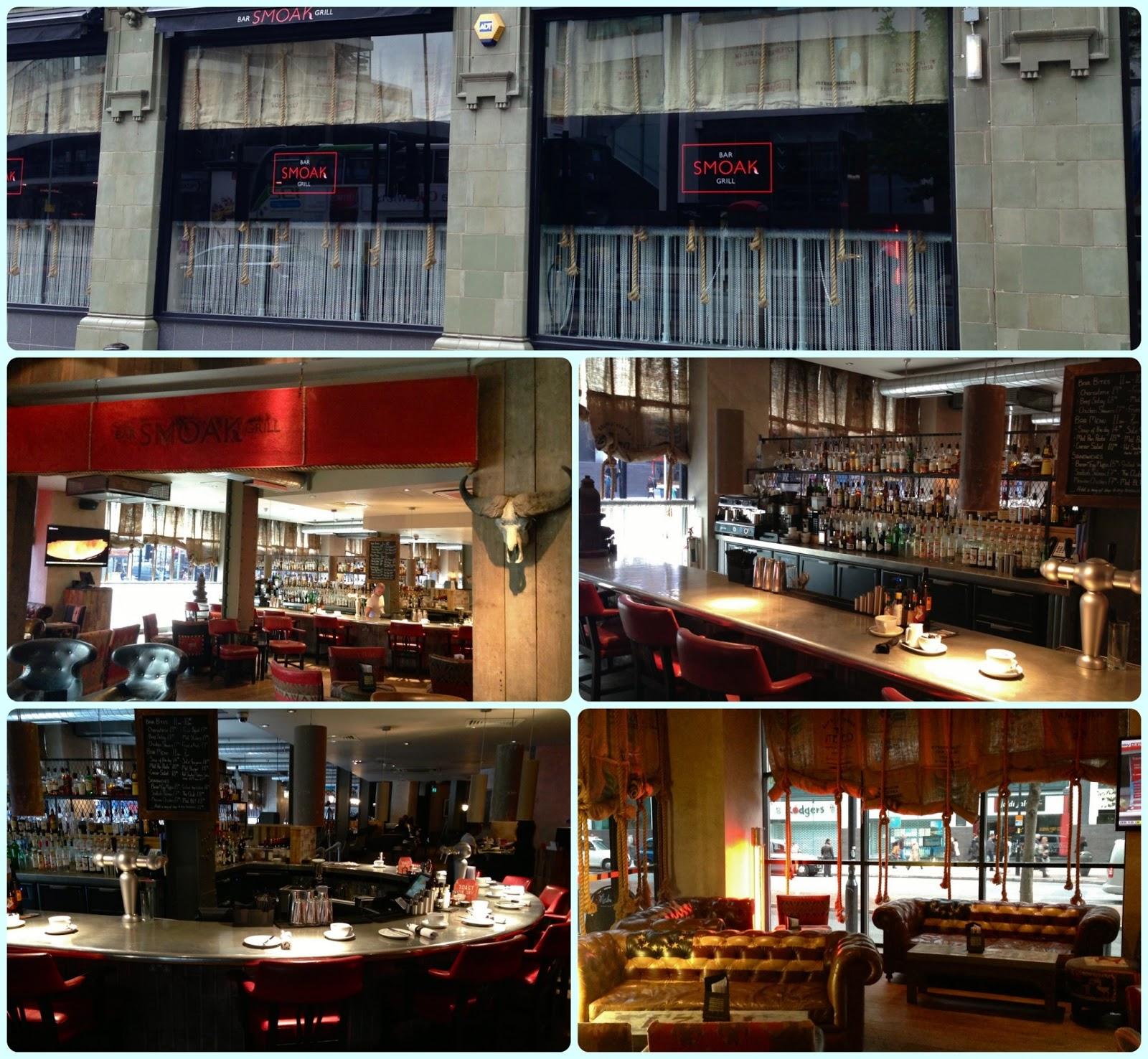 Smoak Bar And Grill Malmaison Hotel Manchester Dollybakes