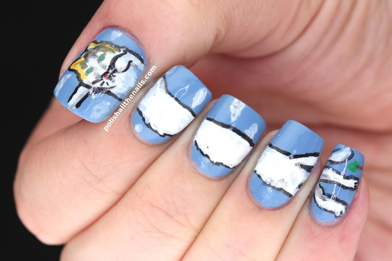 Nail Art: Long Cat Nails!