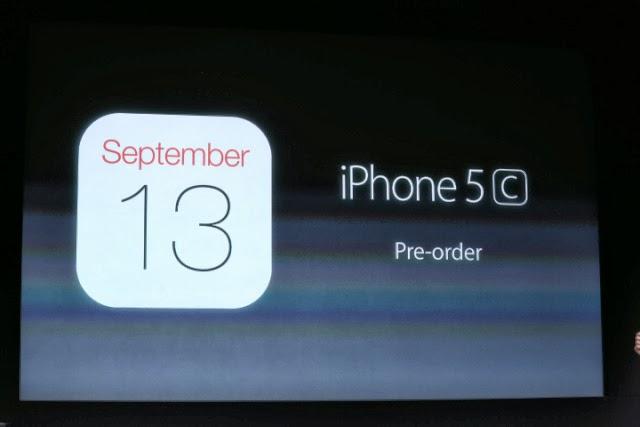 iPhone 5C Pre-Orders