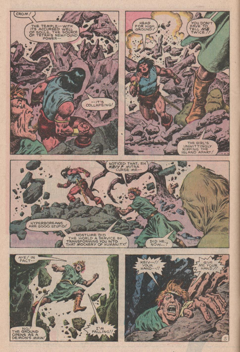 Conan the Barbarian (1970) Issue #178 #190 - English 6