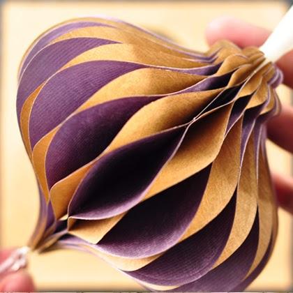 Honeycomb Ornament Tutorial