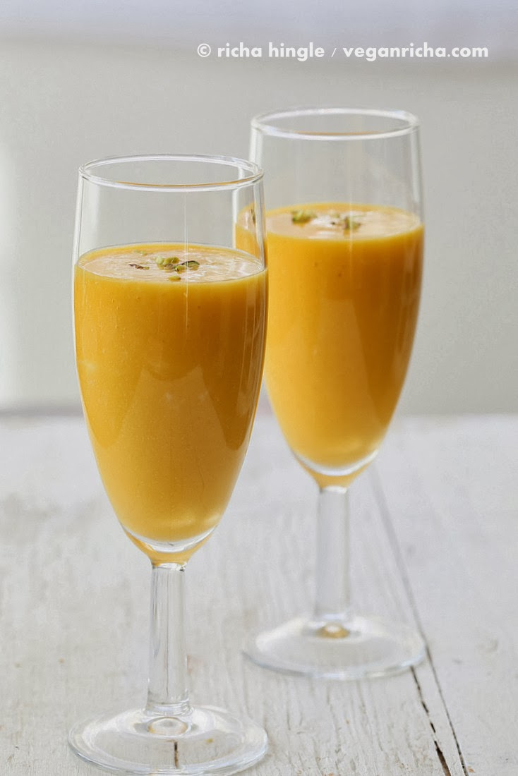Mango Lassi - Mango Yogurt Smoothie