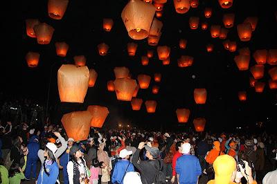 平溪天燈節2012