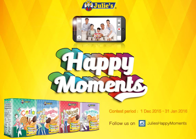 Julie's Biscuits Happy Moments Contest