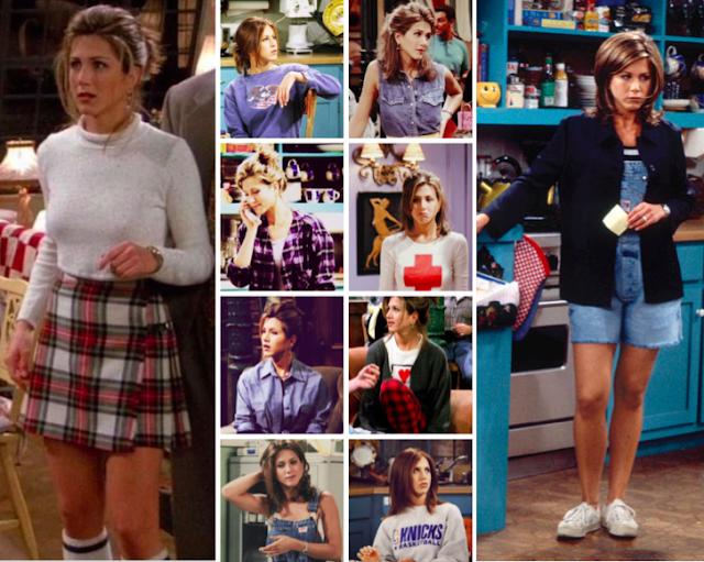 90s style icon Rachel Green
