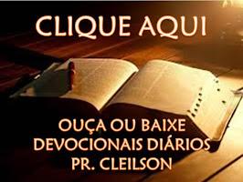 DEVOCIONAIS EM ÁUDIO - PR. CLEILSON