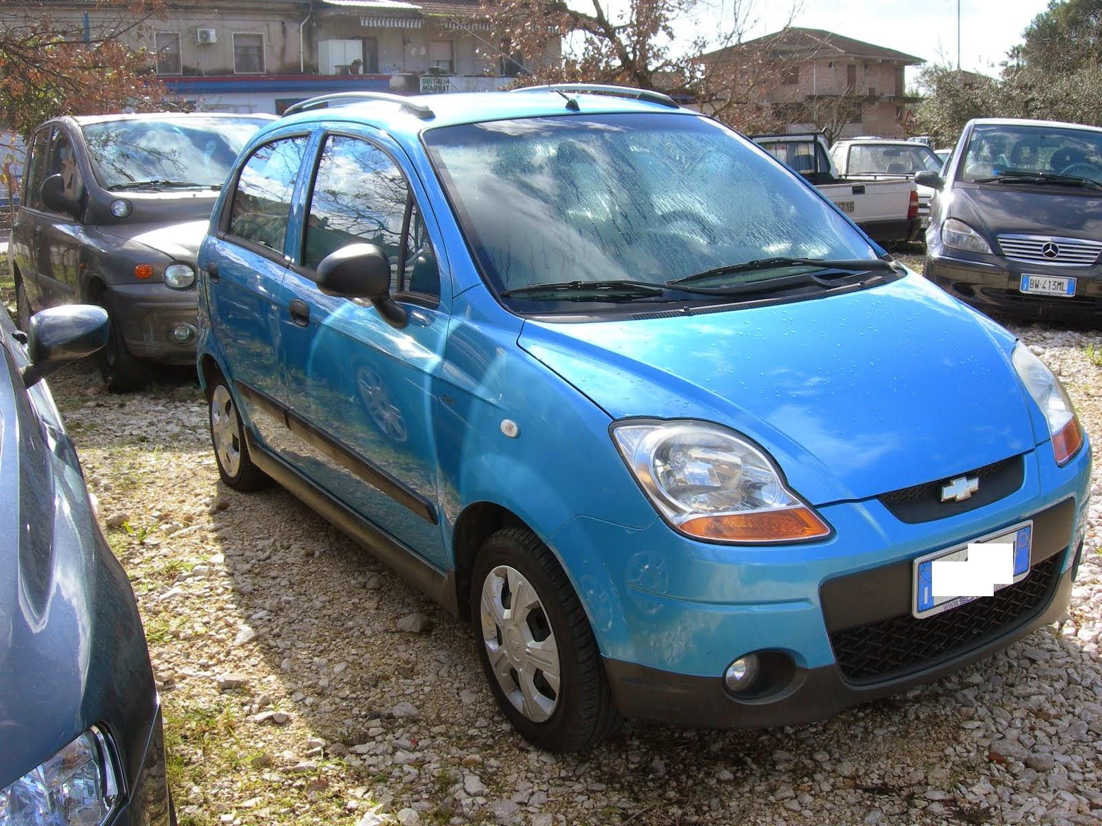 Chevrolet Matiz 800 GPL Anno 2008 Con clima - 100.000 km