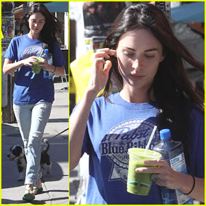 Megan Fox having Juice
