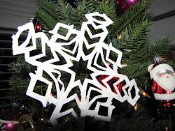 Handmade Snowflakes!