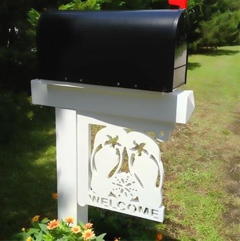 ... Unique Coastal & Nautical Mailboxes & Mailbox Art - Completely Coastal