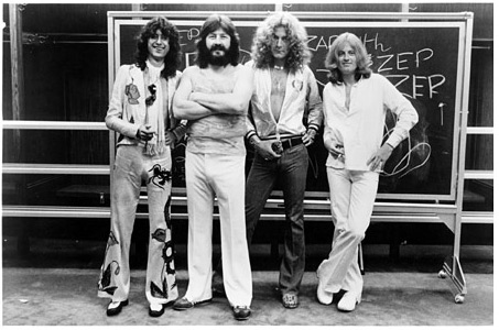 Led Zeppelin refused to discuss a return