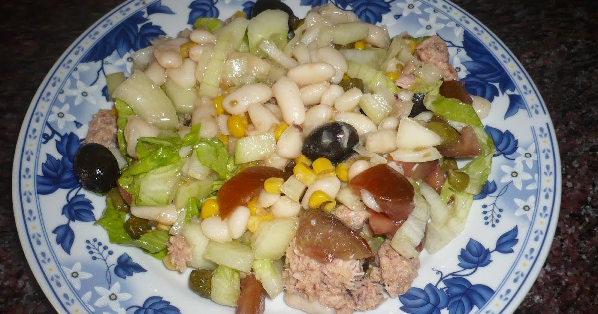 En la cocina con ana ensalada de alubias - Ana cocina facil ...