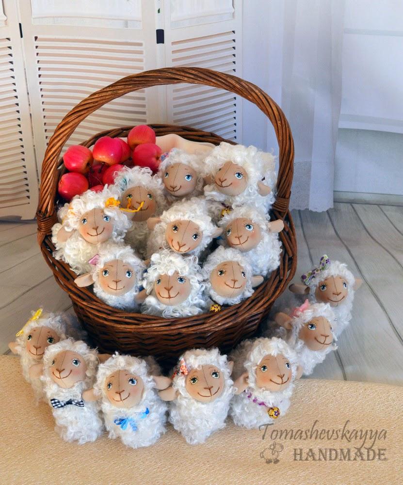 Картинка веселые овечки