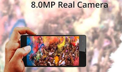 Kamera Belakang Infinix Hot 2 dengan resolusi 8 MP