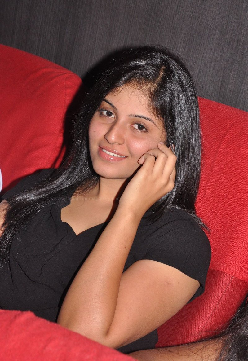Sexy Ationalctress Anjali Hot In Mini Skirt At Maharaja Audio Launch