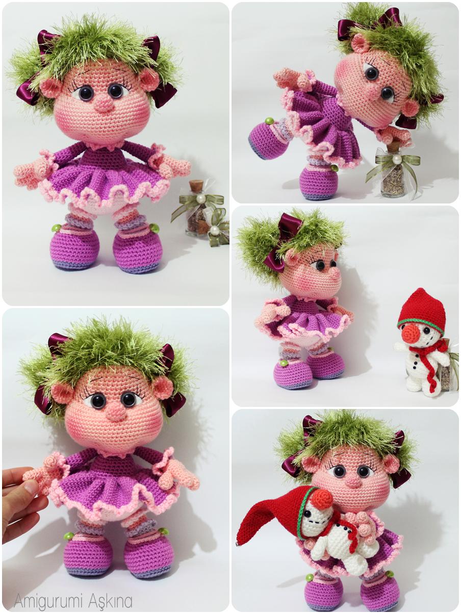 Amigurumi Bicirik Bebek - Amigurumi Doll - Tiny Mini Design