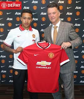 Apresentação Depay Manchester United