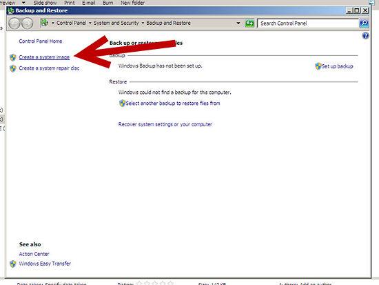 كيفية إنشاء استرداد النظام ويندوز 2013 2.jpg
