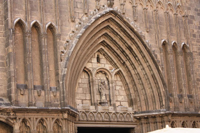 Santa Maria del Pi gothic church