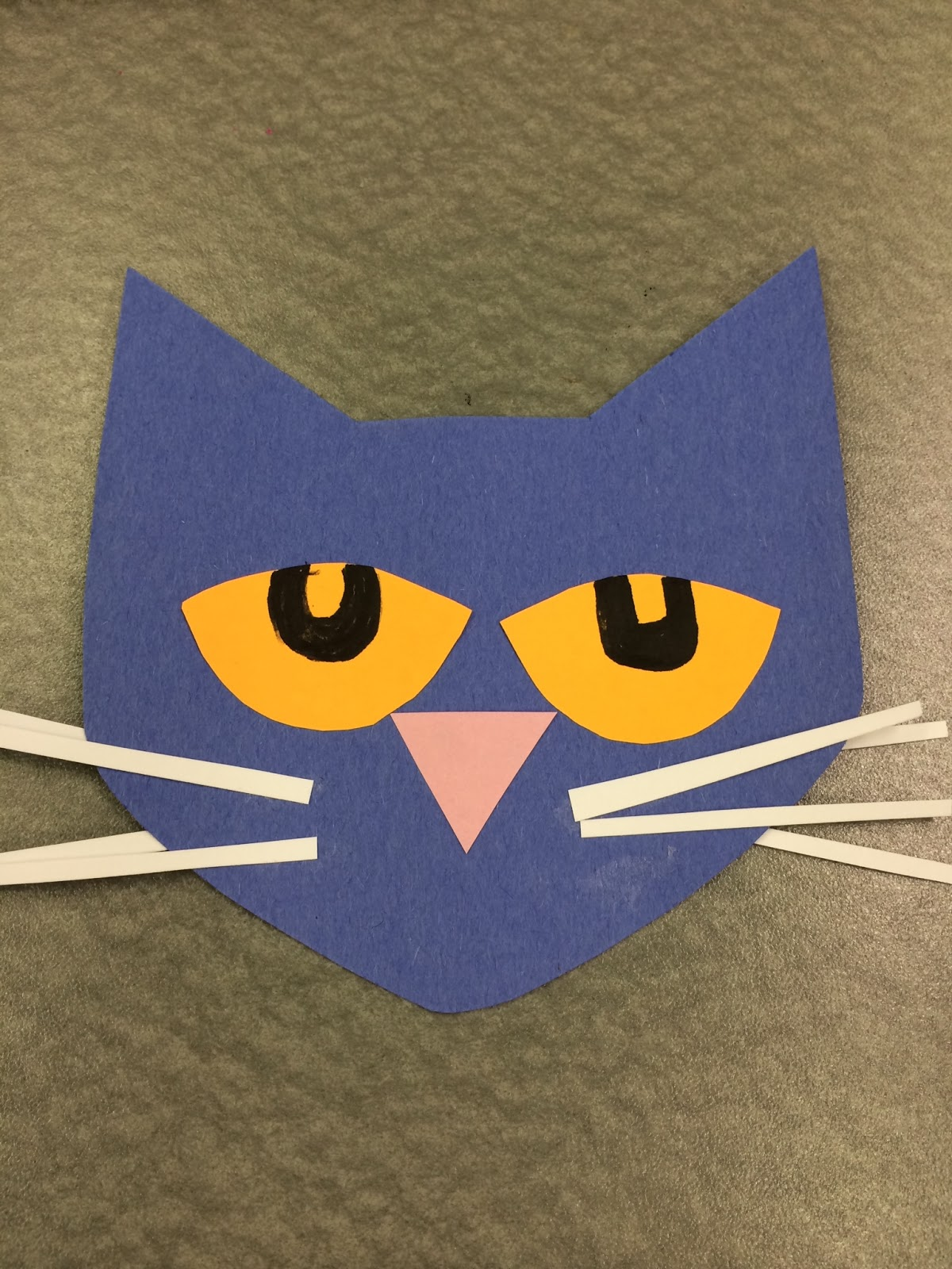 Library village preschool story time grumpy for Cat art and craft