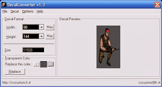 CS 1.6 Decal Converter v1.3, counter strike 1.6