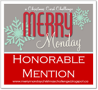 Honorable Mention chez Merry Monday