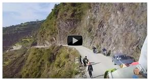 खतरनाक सडक यात्रा नेपाल