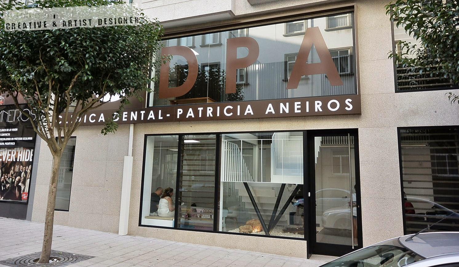 Cesar fuentes zat n dise ador interiorismo y pintura inaugurando la cl nica dental de - Proyecto clinica dental ...
