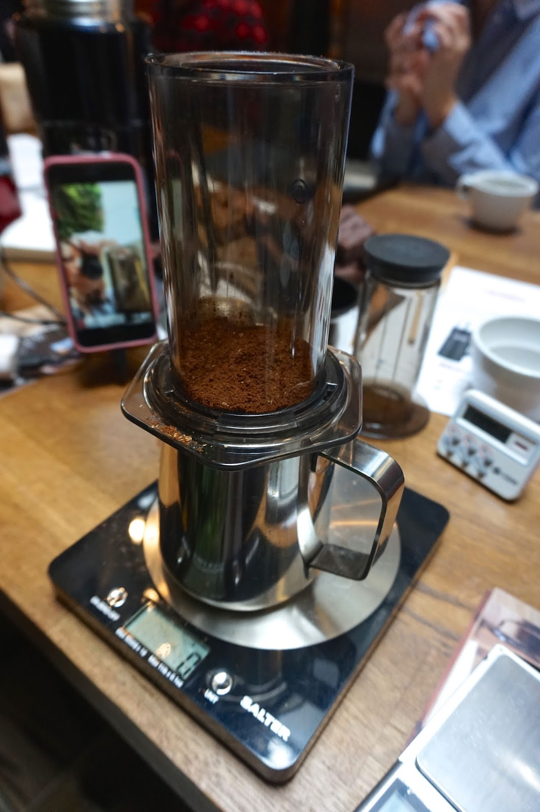 coffee brewing masterclass thermos london