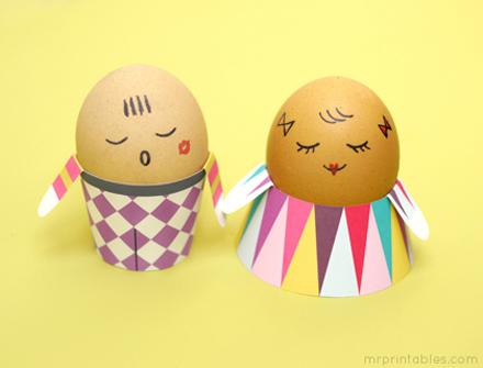Muy cuqui: DIY: Familia de huevos