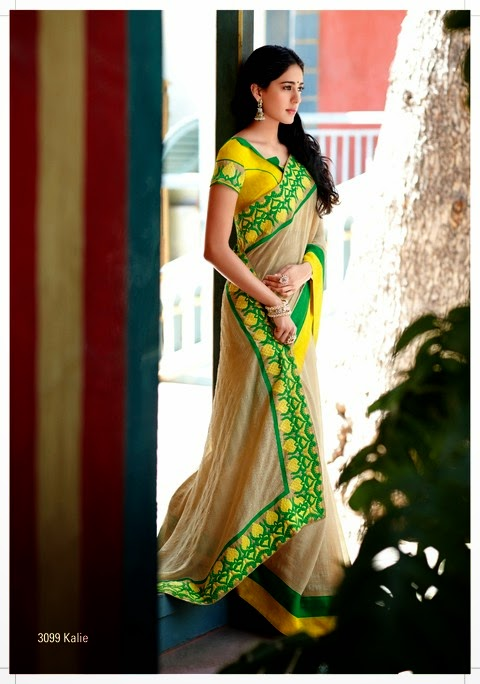 Laxmipati Embroidered Saree Catalog 2014-2015