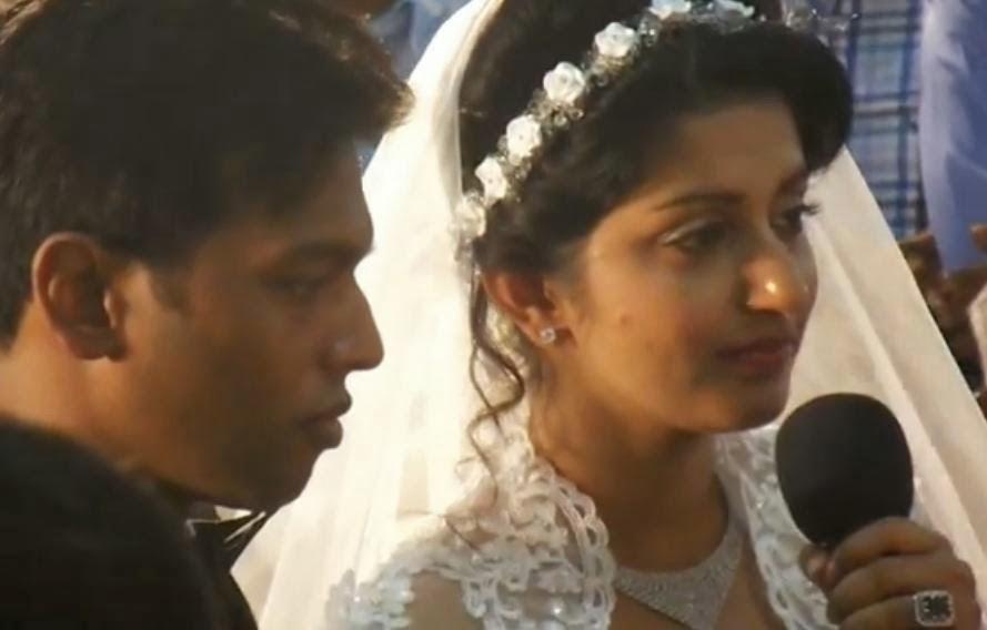 Actress Meera Jasmine Wedding Reception Photos Meera Jasmine