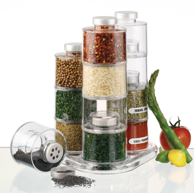 stacking spice containers