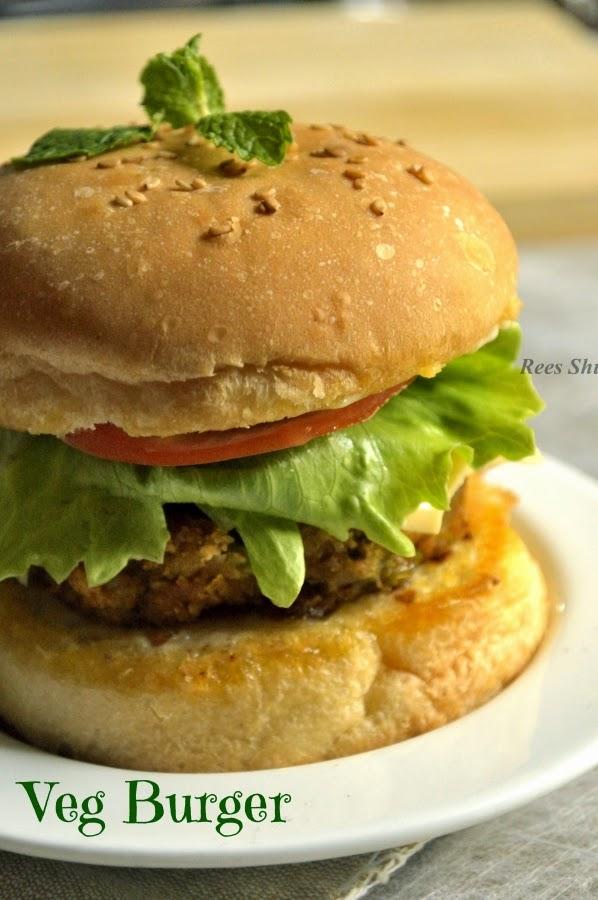 burger recipe vegetable cutlet patty