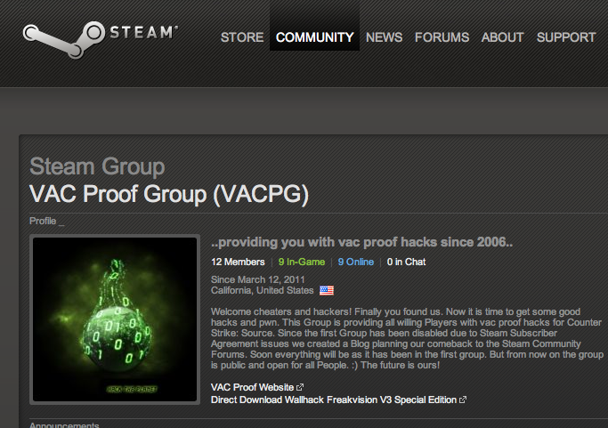 Vac Proof Group We Are Back At The Steam Forums