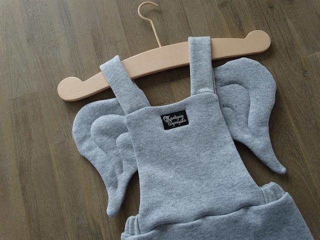 szare spodnie dla dziecka