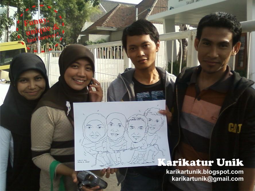 Ngamen Kartun Lagi! - Group Caricature