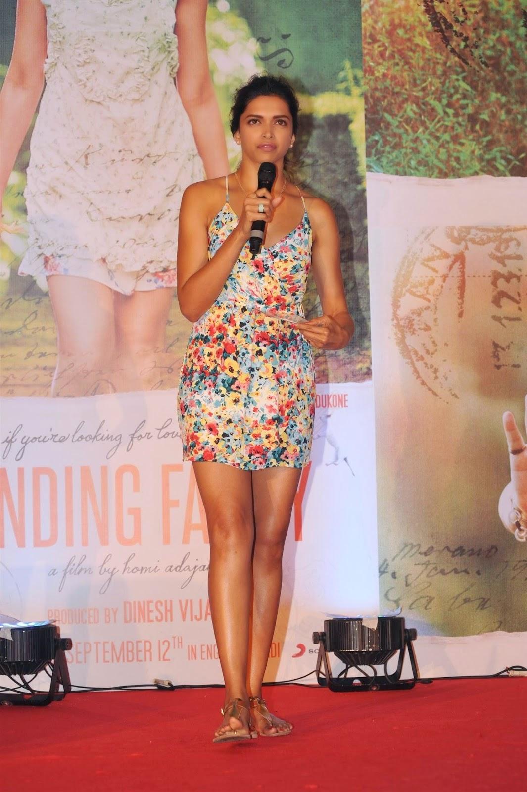 Deepika Padukone short dress hq