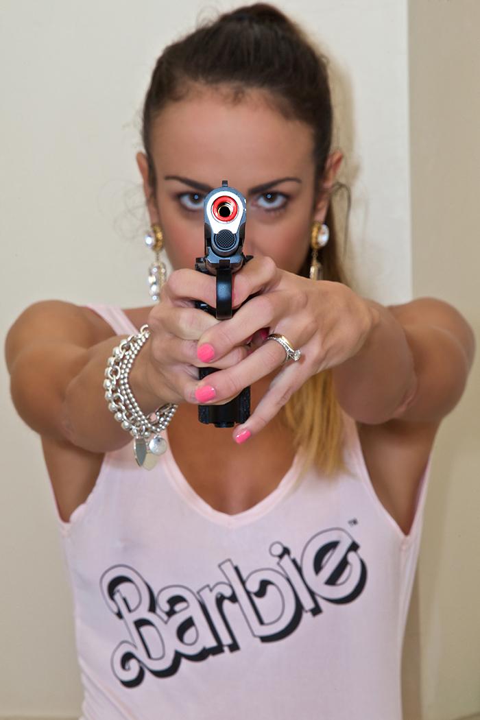 barbie gun