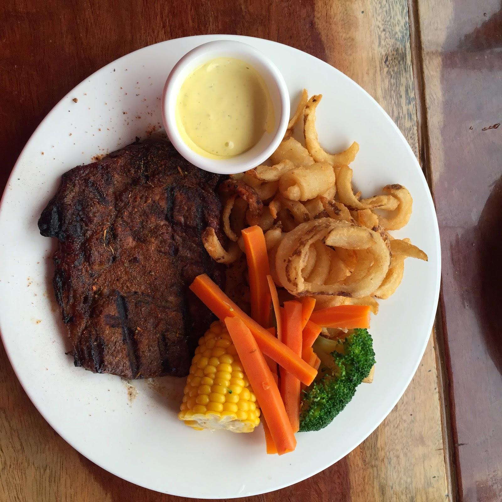 SFH Lunch at Cronulla beach - Blackened Steak