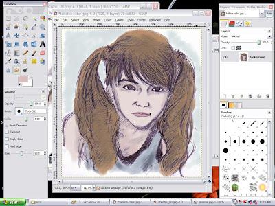Sketch to Digital Coloring