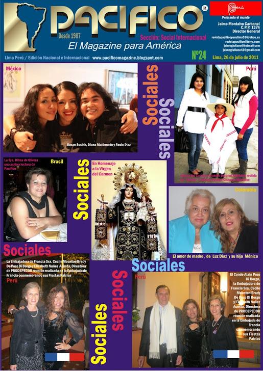 Revista Pacífico Nº 24 Social Internacional