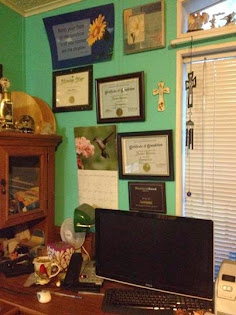 Writing Corner of B. J. Robinson