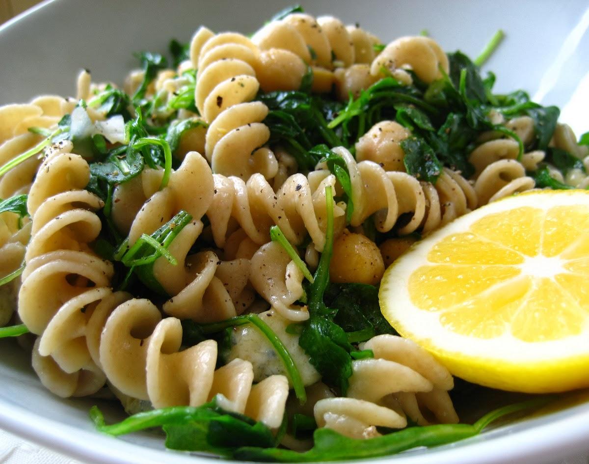 Whole-Wheat Spaghetti With Meyer Lemon, Arugula, And Pistachios Recipe ...