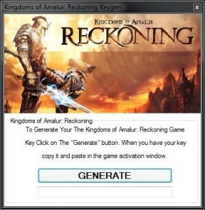 Reckoning Kingdoms Of Amalur Cheats