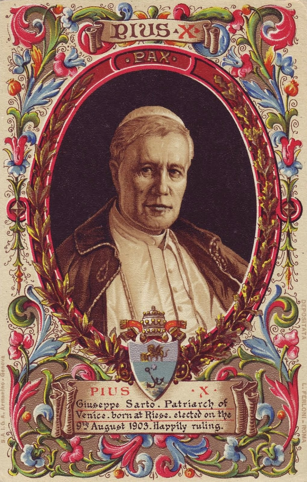 Pope Saint Pius X ORA PRO NOBIS