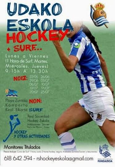Campus de Verano: Udako Eskola Hockey + Surf + ...