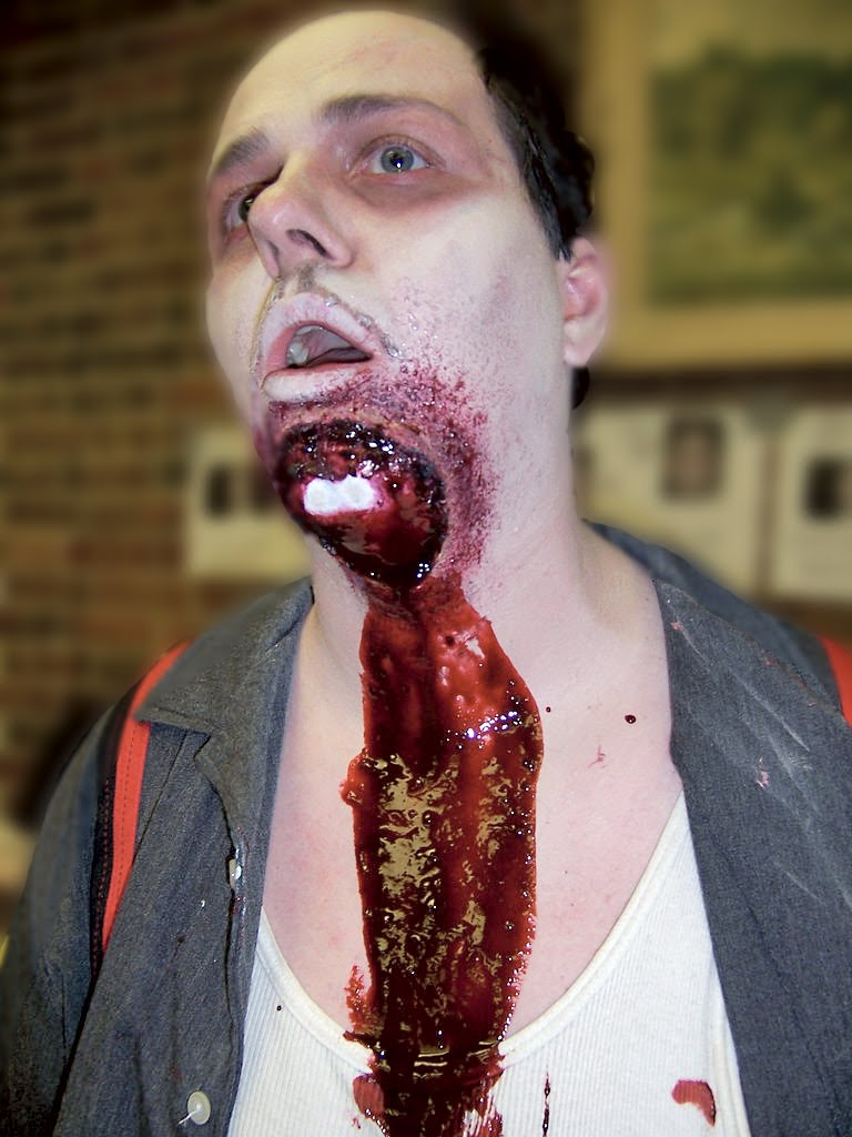 My Unfortunate Blog: Some Ideas for Zombie Makeup